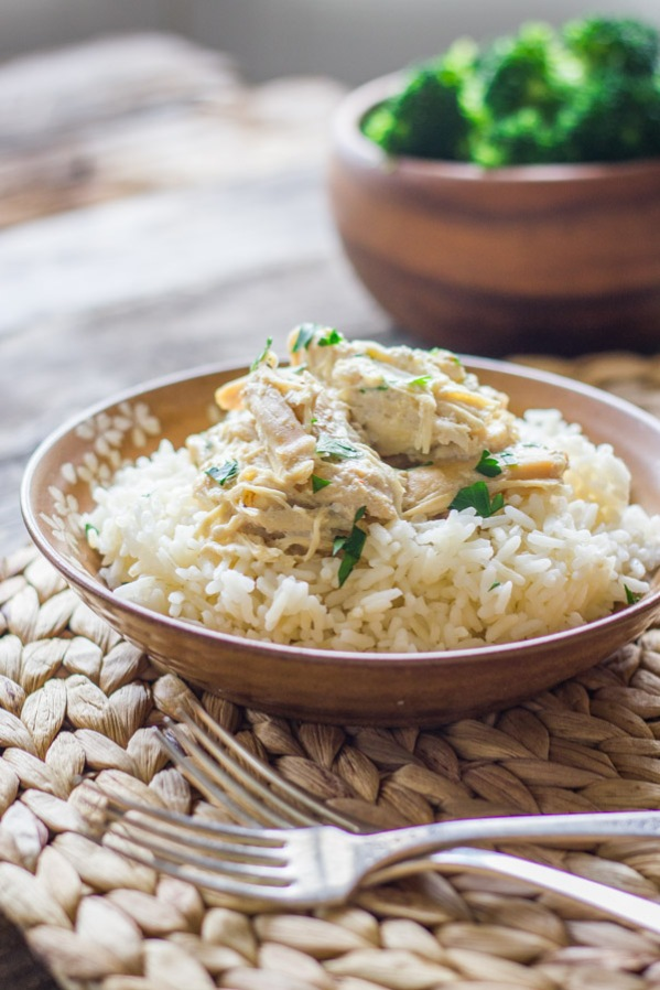 Easy-Creamy-Crockpot-Chicken-and-Rice-5